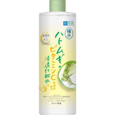 Лосьон с производным витамина C HADALABO Kiwamizu Hatomugi Lotion 400 мл: фото