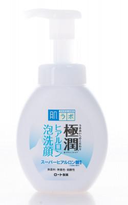 Пенка для умывания с супергиалуроновой кислотой HADALABO Gokujyun Foaming Wash 160 мл: фото