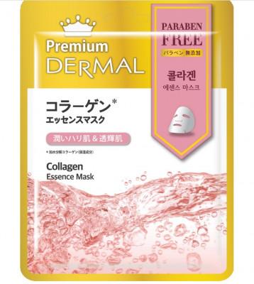Тканевая маска коллаген Dermal Premium Collagen Essence Mask 23 мл: фото