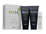 Крем выпрямляющий для нормальных и крепких волос Kaaral Online hair straightening system 1 445мл: фото