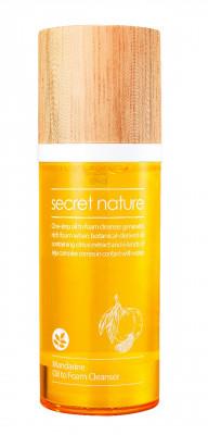 Гидрофильное масло-пенка с мандарином Secret Nature Mandarine Oil to Foam Cleanser 100 мл: фото