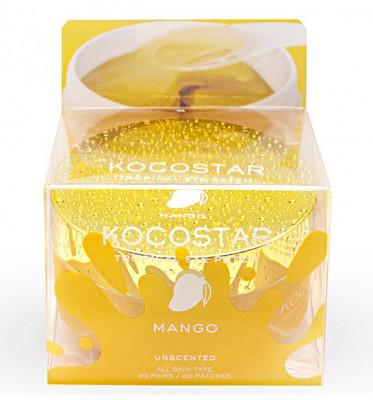 Патчи для глаз гидрогелевые с экстрактом манго Kocostar 60 шт: фото