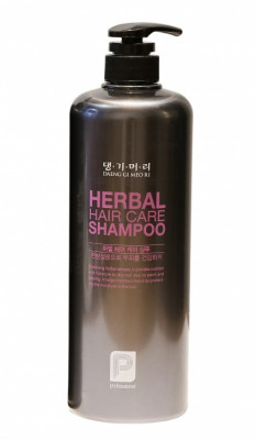 Шампунь профессиональный Daeng Gi Meo Ri Professional HERBAL HAIR CARE SHAMPOO 1000мл: фото