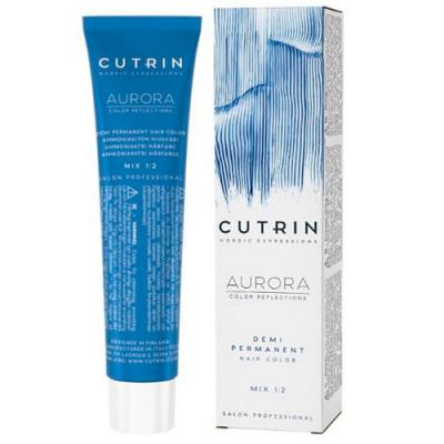 Безаммиачный краситель CUTRIN AURORA 7.1 Легкий пепельный блондин 60 мл: фото