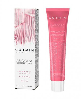 Крем-краска для волос CUTRIN AURORA 4.75 Миндаль в шоколаде 60 мл: фото