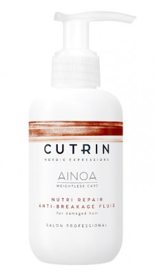 Флюид несмываемый для восстановления CUTRIN AINOA NUTRI REPAIR 150мл: фото