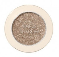 Тени для век с глиттером THE SAEM Saemmul Single Shadow Glitter WH03 Luminous White: фото