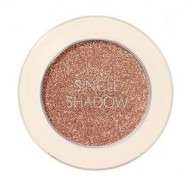 Тени для век с глиттером THE SAEM Saemmul Single Shadow Glitter OR09 Appeal Orange: фото