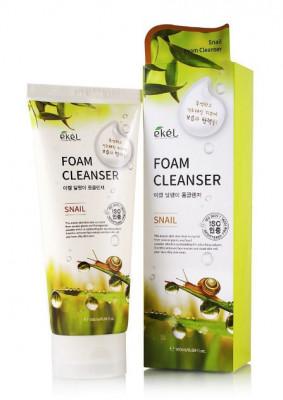 Пена для умывания с улиточным муцином Ekel Foam Cleanser Snail 180 мл: фото