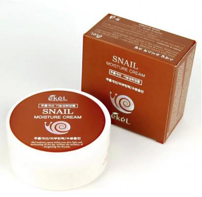 Крем для лица с улиточным муцином Ekel Moisture Cream Snail 100 мл: фото