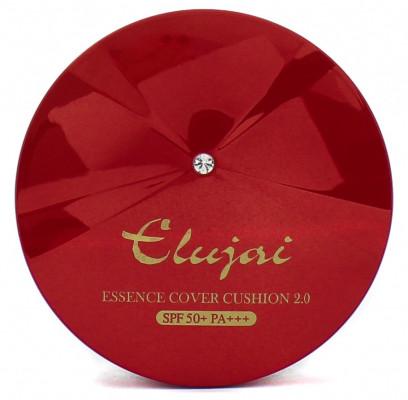 Кушон для лица увлажняющий с защитой от солнца Elujai Essence Cover Cushion #21 SPF50+ PA+++ 15г: фото