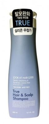 Шампунь против выпадения волос DAENG GI MEO RI Look At Hair Loss True Hair & Scalp Shampoo 500мл: фото