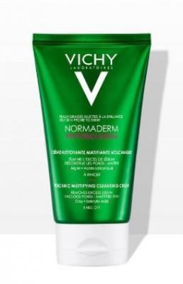 Гель для умывания с вулканическим перлитом для жирной кожи VICHY NORMADERM PHYTOSOLUTION 125мл: фото