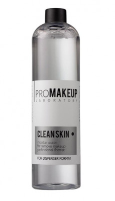 Мицеллярная вода PROMAKEUP laboratory CLEAN SKIN 500 мл: фото