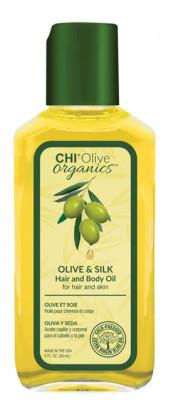 Масло для волос и тела CHI OLIVE ORGANICS 59 мл: фото
