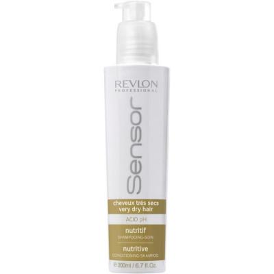 Питательный уход для сухих и поврежденных волос Revlon Professional SENSOR CARE HYDRO-NUTRITIVE коричневый 200 мл: фото