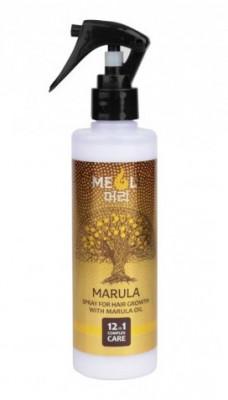Спрей для роста волос с маслом Марулы MEOLI