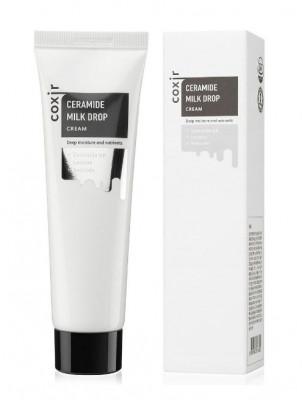 Крем с керамидами COXIR Ceramide Milk Drop Cream 70г: фото
